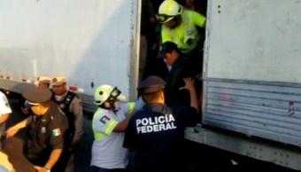 Foto: La Guardia Nacional y Agentes Federales de Migración localizan a 34 menores de edad y 78 adultos, 17 de julio de 2019 (Noticieros Televisa)
