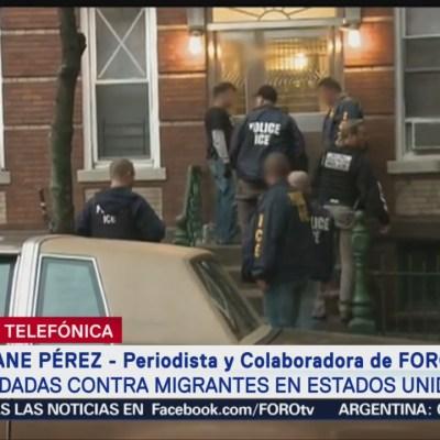 Migrantes temen por anuncio de redadas masivas en Estados Unidos