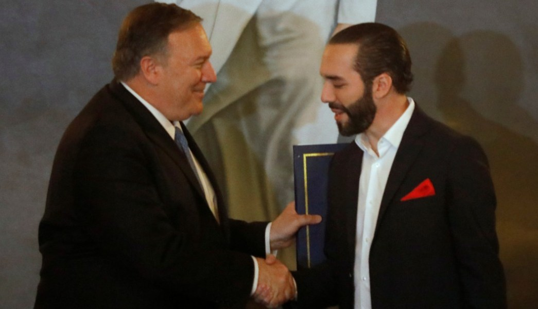 EEUU afianza lazos con El Salvador contra Maduro, migración y narcotráfico