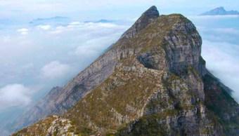 Imagen: Localizaron a un excursionista de entre 55 y 60 años, quien escalo hasta el Pico Cuauhtémoc del Cerro de las Mitras, 23 de julio de 2019 (Gaiga Extreme, archivo)