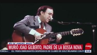 FOTO: Muere Joao Gilberto, padres de la bossa nova, 6 Julio 2019
