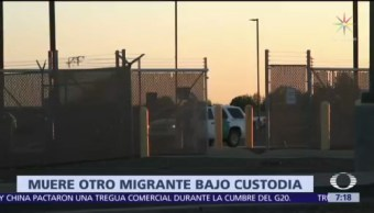 Muere otro migrante salvadoreño bajo custodia de la Patrulla Fronteriza