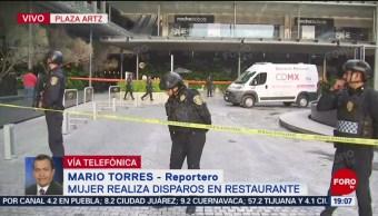 Foto: Mujer Responsable Balacera Plaza Artz Realizó Cinco Disparos 24 Julio 2019
