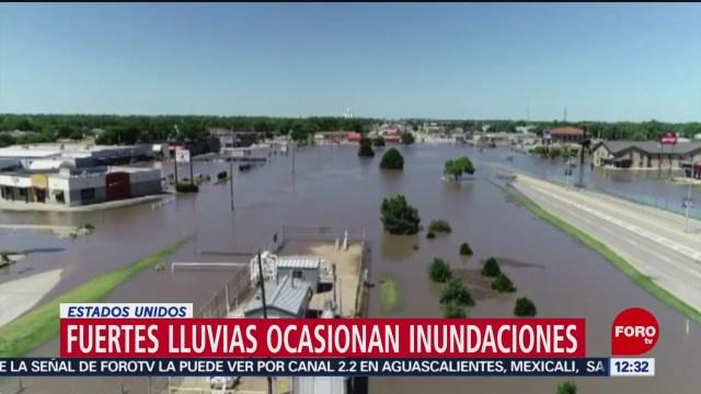 Nebraska, en Estados Unidos, registra fuertes lluvias e inundaciones