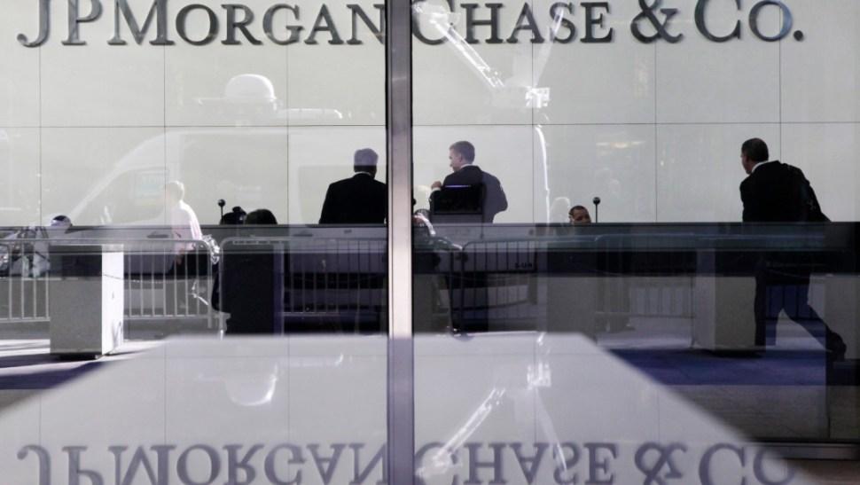 FOTO Oficinas de JP Morgan Chase en Nueva York (AP)