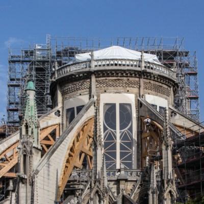 Ola de calor en Europa amenaza catedral de Notre Dame