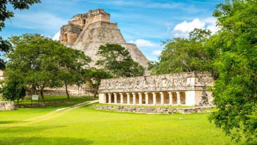 Imagen: El Palacio del Gobernador es considerado el edificio con la más alta expresión artístico-arquitectónica de la antigua civilización maya, el 10 de julio de 2019 (Getty Images, archivo)