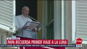 FOTO: Papa Francisco recuerda 50 años de la llegada del hombre a la Luna, 21 Julio 2019