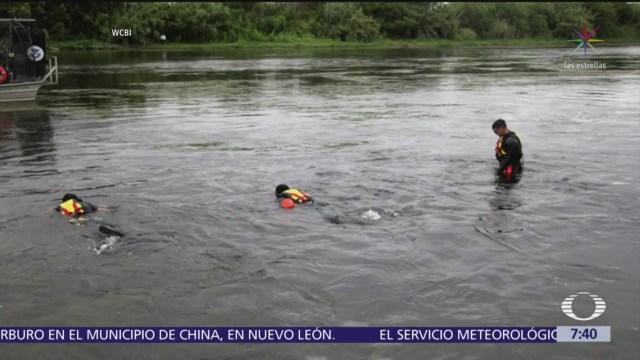 Patrulla fronteriza busca a niña migrante desaparecida en el Río Bravo