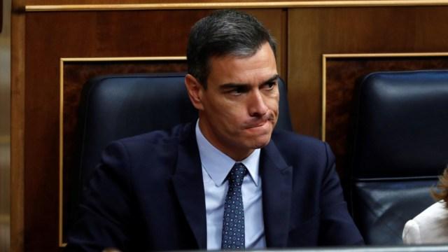 FOTO Pedro Sánchez no obtiene respaldo del Congreso para gobernar España (EFE)