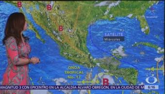 Persisten lluvias y altas temperaturas en gran parte de México