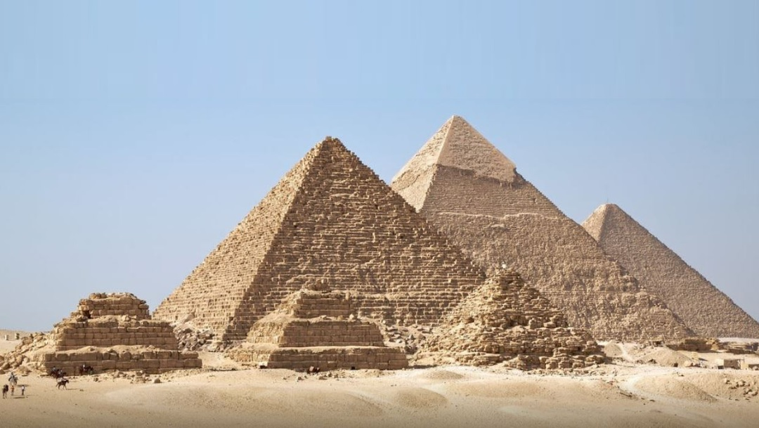 Foto: La gran Piramide de Guiza, 14 julio 2019