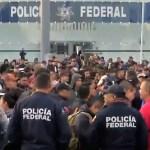 Prestaciones y antigüedad, algunas de las demandas de la Policía Federal
