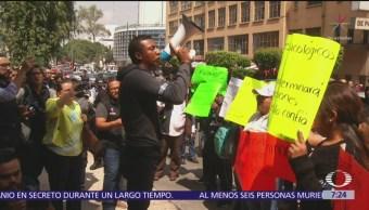 Policías federales inconformes piden intervención al Senado