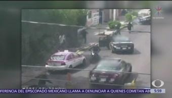 Policías frustran asalto a cuentahabiente en Tláhuac