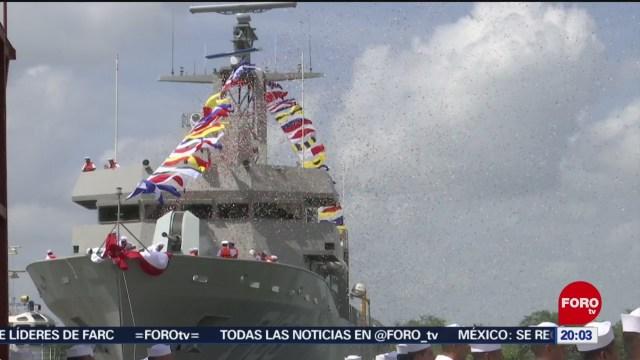 FOTO: Ponen a flote nueva Patrulla Oceánica de la Marina, 20 Julio 2019