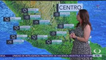 Pronostican lluvias en 29 estados de la República Mexicana