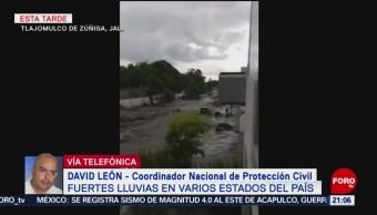 FOTO: Protección Civil no reporta fallecidos por fuertes lluvias en México, 21 Julio 2019