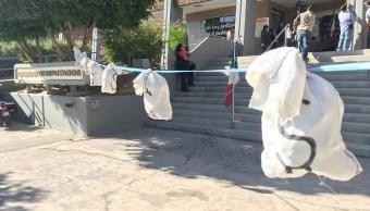 Protesta en Congreso de Baja California
