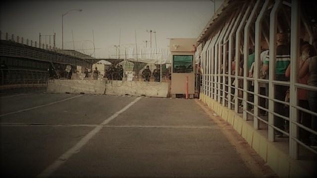 FOTO: Cubanos intentan EEUU Puente Internacional Reynosa-Hidalgo 4 julio 2019