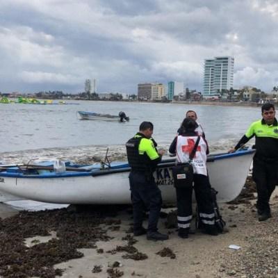 Pescador muere al caerle un rayo en Mazatlán, Sinaloa