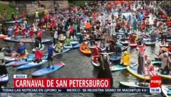 FOTO: Realizan carnaval de San Petersburgo, Rusia, 20 Julio 2019