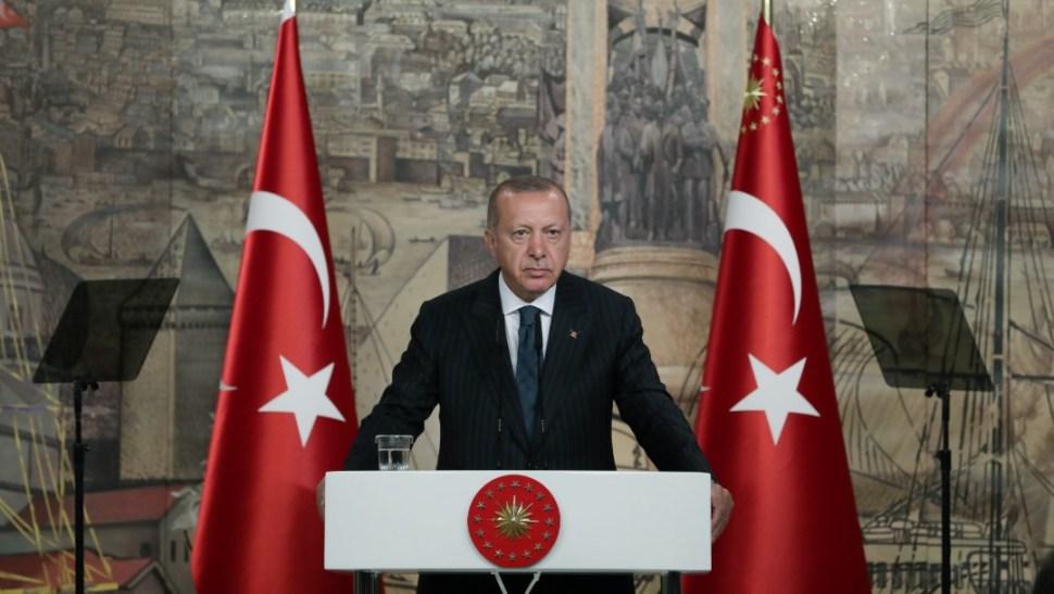 Foto: Recep Tayyip Erdogan, 20 de junio de 2019, Esatmbul
