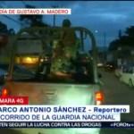 Foto: Recorrido Guardia Nacional Alcaldía Gam CDMX 17 Julio 2019