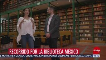 FOTO: Recorrido por la Biblioteca México, 20 Julio 2019