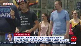 FOTO: Redadas contra migrantes en Estados Unidos,14 Julio 2019