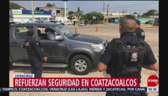 FOTO: Refuerzan seguridad en Coatzacoalcos, Veracruz, 27 Julio 2019