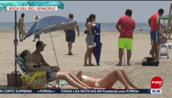 FOTO: Refuerzan seguridad en playas de Veracruz