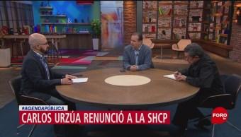 FOTO: Renuncia, advertencia económica de Carlos Urzúa, 14 Julio 2019