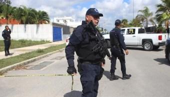 Foto: rescate de trabajadores en Cancún, 3 de julio 2019. EFE