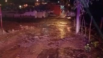 Desborda río Salsipuedes en Jalisco