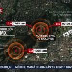 FOTO: Saldo blanco tras microsismos en CDMX, informa David León Romero