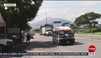 FOTO: Sancionaran para frenar flujo migratorio en Chiapas