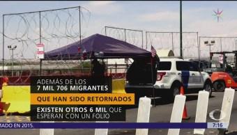 Saturada la frontera de Ciudad Juárez, Chihuahua