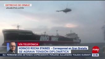 FOTO: Se agrava la tensión diplomática entre Reino Unido e Irán, 20 Julio 2019