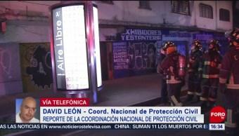 Se han registrado 13 sismos de menor intensidad: David León