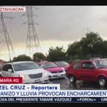 Foto: Caída Lluvia Granizo Alcaldía Iztapalapa CDMX Hoy 31 Julio 2019