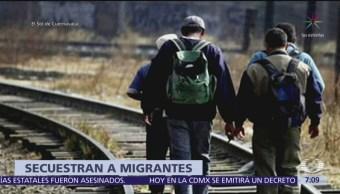 Secuestran y abandonan a cuatro migrantes en Morelos