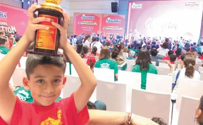 Sergio Antonio Luna Alvarez, Campeón Mundial de Cálculo Mental. (Twitter)