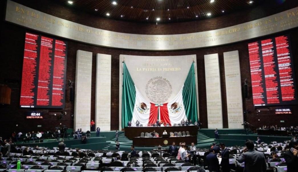 Sesión de Cámara de Diputados.
