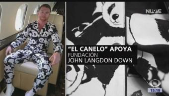 Subastan pijama pandas Canelo apoyo una fundación
