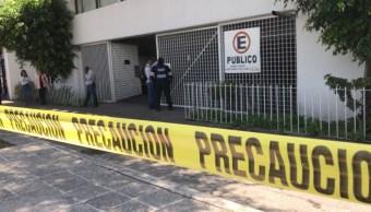 Foto: balacera en sucursal bancaria, 5 de julio 2019. S. Servín