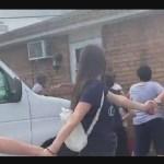 Foto: Cadena Humana Migrantes Nashville EStados Unidos 23 Julio 2019