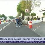 Tercer día de negociaciones entre gobierno y policías inconformes