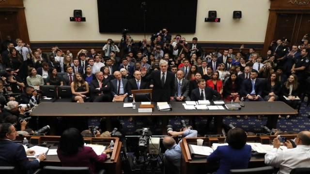 Robert Mueller testifica ante Congreso de Estados Unidos