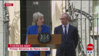 Theresa May: Servir como primera ministra, el honor más grande de mi vida